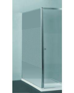 Priva Vaste wand - 118-120 x 190 cm - Kleine vierkantjes