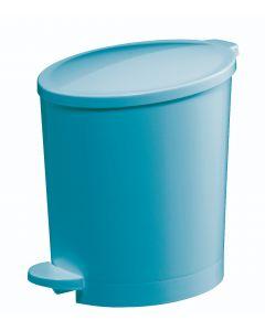 Happy Afvalemmer 4L - Blauw