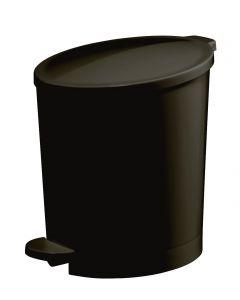 Happy Afvalemmer 4L - Zwart
