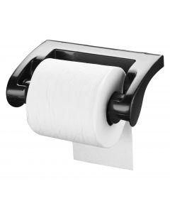 Smart Brush Picolo WC-Papierhouder Zwart