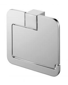 Futura WC-Papierhouder Met Afdekplaat Chroom