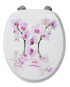Deco Orchidee WC-Bril