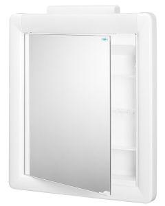 Kalipso Toiletkast Met Verlichting 52 Cm - Wit - Mat - 52,5x66x11 cm