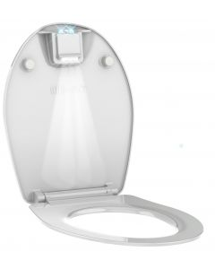 Nighty 2 WC-Bril Glanzend Wit
