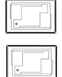 Fix alu Mantel U vorm voor baden Confidence en Spallibert Duo - 180x120 - Wit