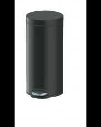 Lycia Afvalemmer pedaal rond 30L - Zwart