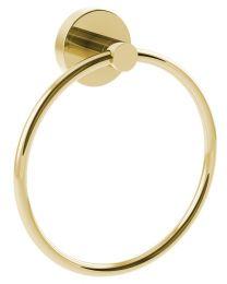Coperblink Handdoekring - Glanzend Goud
