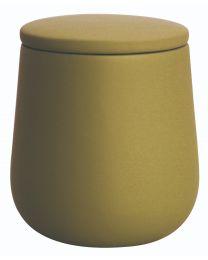 Bowling Pot à coton - Moutarde Soft touch