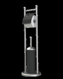 Rondy Valet WC - Noir/Chrome