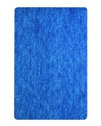 Spirella Gobi - Tapis de WC - Microfibres - 55x55 cm - Blue