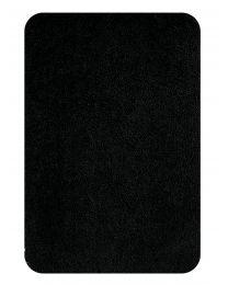 Spirella Highland - Tapis de WC - Microfibres - 55x55 cm - Noir