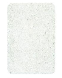 Spirella Tapis de WC Highland - White - Microfibres 40 Mm - 55x55 cm