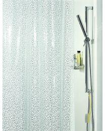 Spirella Galet - Douchegordijn - PVC - 180 x200 cm - Wit