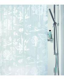 Spirella Riff -Douchegordijn - PVC - 180 x200 cm - Wit