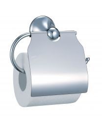 Classy WC-Papierhouder Met Afdekplaat Chroom