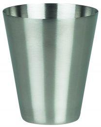 Max Zeepdispenser - Chroom - Geborsteld - 8,5x10x8,5 cm