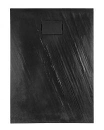 Rockstone Receveur de douche Rectangle - Gris Anthracite - Mat - 120x90x3,5 cm