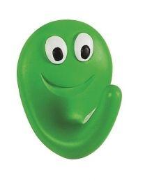 Spirella Smile Haak - Groen / Smile Groen - Mat - 4x5x2,5 cm - Klevend