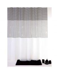 Grey Douchegordijn - 180 x 200