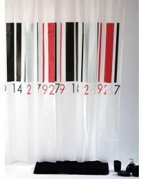 Bars Douchegordijn - 180 x 200