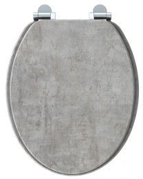 Naturo WC-Bril Licht beton